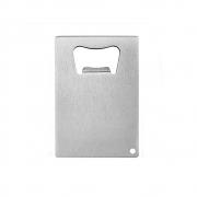 Abridor De Garrafa Formato Cartão em Metal