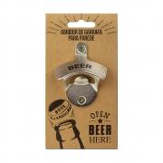 Abridor de Garrafa para Parede Open Beer