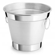 Balde de Gelo ou Açúcar 2,5L Alumínio Polido/Lixado