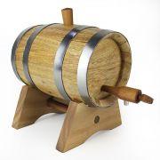 Barril Amburana Pequeno 1L para Envelhecer Bebidas e Coquetéis