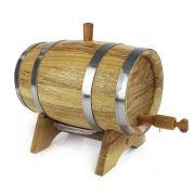 Barril de Amburana 2,5 litros para Envelhecer Bebidas