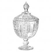 Bomboniere Potiche Versailles Em Cristal Com Pé L´HERMITAGE