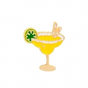 Broche Pin Margarita Com Limão 2.5 cm