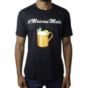 Camiseta Coquetel Moscow Mule Preta
