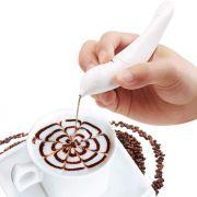 Caneta Decoradora de Pratos e Bebidas Latte Art