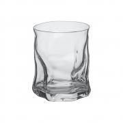 Copo Baixo De Whisky Em Vidro Sorgente 420ml