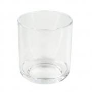 Copo Baixo Whisky Acrílico 400ml Kos