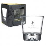 Copo Baixo Whisky Johnnie Walker Vidro 300ml Base Grossa