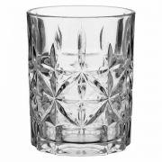 Copo Fabulous Star Whisky Vidro Transp 330ml
