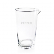 Copo Mixing Glass Alto Vidro 620ml CAMPARI