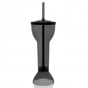 Copo Yard Cup Prime 24cm Preto Fumê 550ml