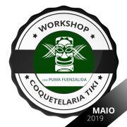 Curso Workshop de Coquetelaria Tiki com Puma Fuenzalida