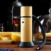 Defumador Portátil para Drinks Smoke Gun Dourado CREATIVECHEF
