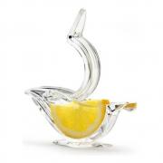 Espremedor de Limão Acrílico Transparente Prana