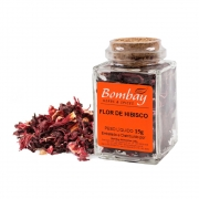 Flor de Hibiscus  Bombay Vidro 15g