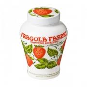 Fragola Fabbri Fruto Morango em Calda 230g Pote de Cerâmica