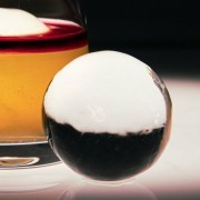 Gelo Congelado Transparente Jogo de 2 Esferas Ice4Pros 55mm cada