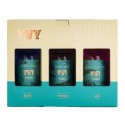Kit Gin Trilogia YVY Premium Mar Terra Ar 200ml
