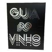 Kit para Vinho Cor Preta Com 5 Pecas Guia do Vinho