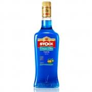 Licor Fino Stock Curaçau Blue Triple Sec 720ml Garrafa Vidro