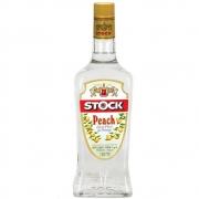 Licor Fino Stock Peach Pêssego 720ml Garrafa Vidro