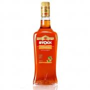 Licor Fino Stock Tangerina Mandarino 720ml Garrafa Vidro