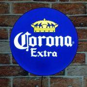 Luminoso Retro Corona Extra 40cm Decor Parede