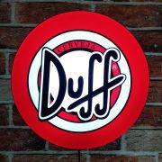 Luminoso Retro Duff 40cm Decor Parede