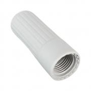 Porta Capsula Para Sifão em Plástico Branco