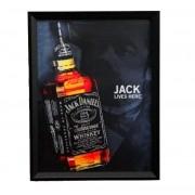 Quadro Jack Daniel's 3D