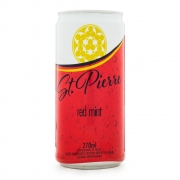 Red Mint St. Pierre Lata 270ml Refrigerante de Fruta