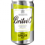 Spicy Ginger Ale Britvic 220ml Lata