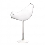 Taça Coquetel Bird Pássaro Vidro Fino 150ml