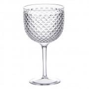 Taça de Gin Tônica Acrílica Luxxor Transparente 600ml