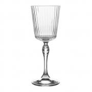 Taça de Vidro Listrado Cocktail America'20s Speakeasy Bormiolli Rocco 250ml