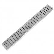 Tapete BarMat Inox Escorredor de Copos Calha para Balcão 8cm x 61cm