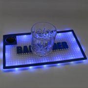 Tapete Shaker Mat com Luz LED 15x30cm Azul