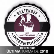 Vaga Curso Intermediário de Bartender Mixologia II