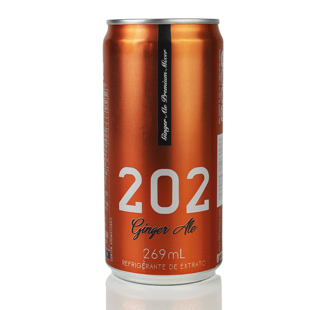 Ginger Ale 202 Lata 269ml