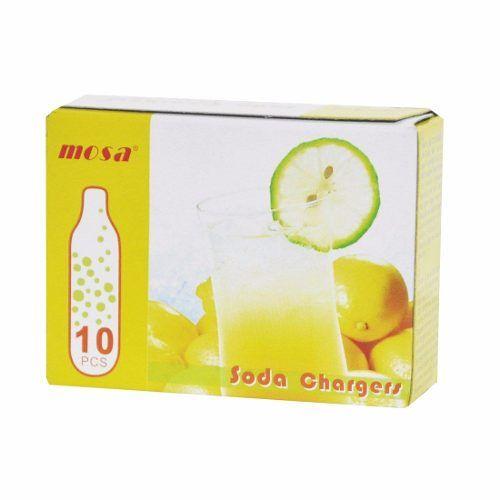 Pack 6 Caixas de Gás para SODA Mosa