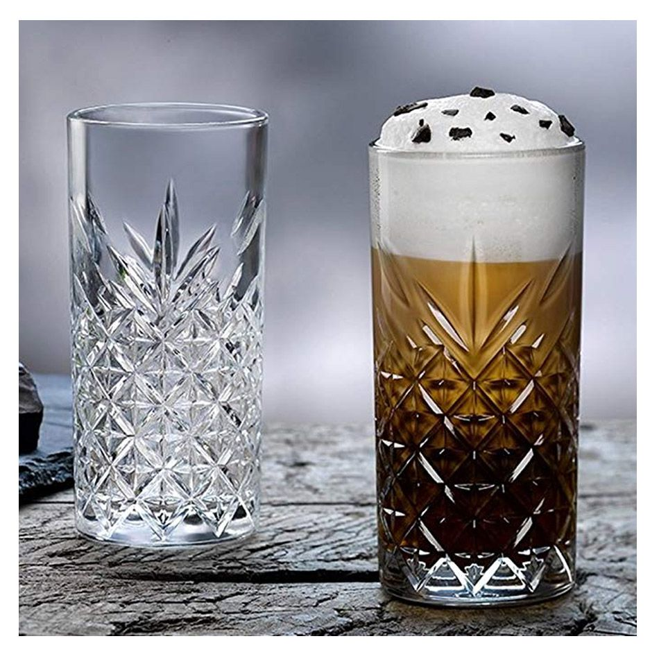 4 Copos Long Drink Alto Pasabahce  450ml Vidro