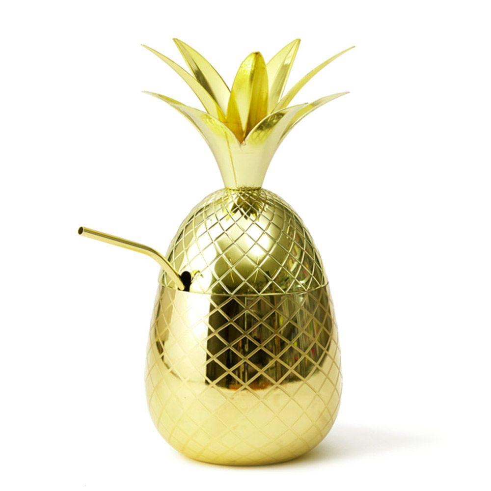 Abacaxi Dourado para Coquetéis Drinks Luxo 800ml