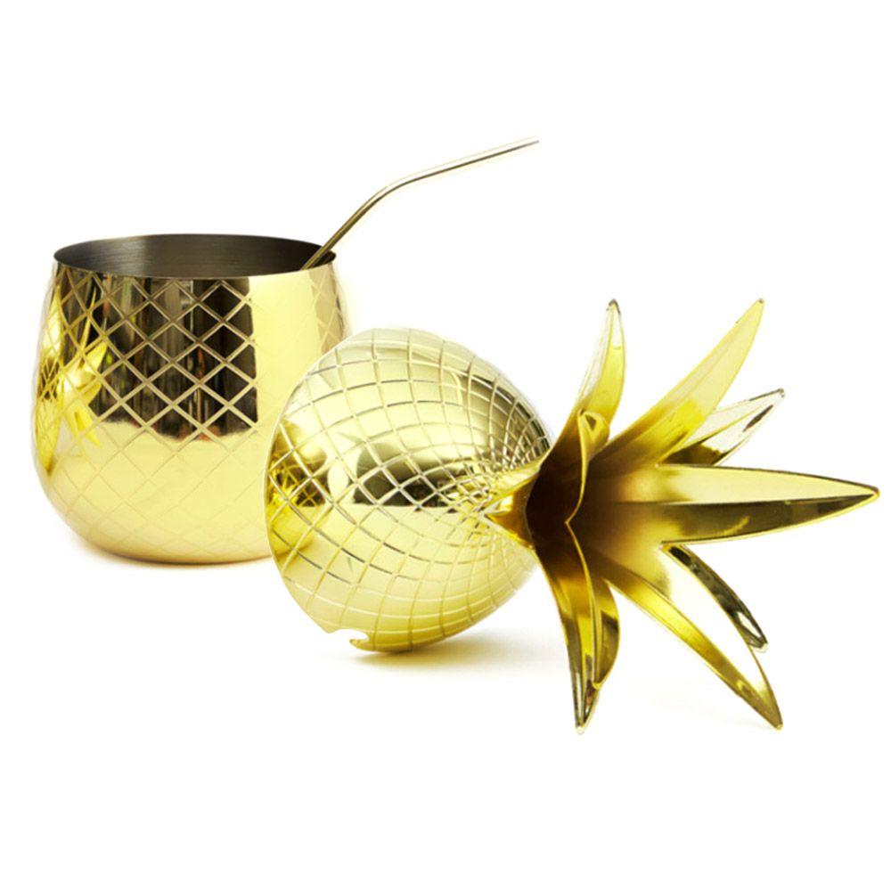 Abacaxi Dourado para Coquetéis Drinks Luxo 800ml Elyx