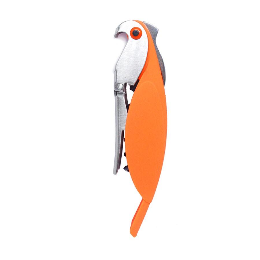 Abridor de Vinhos e Garrafas Papagaio