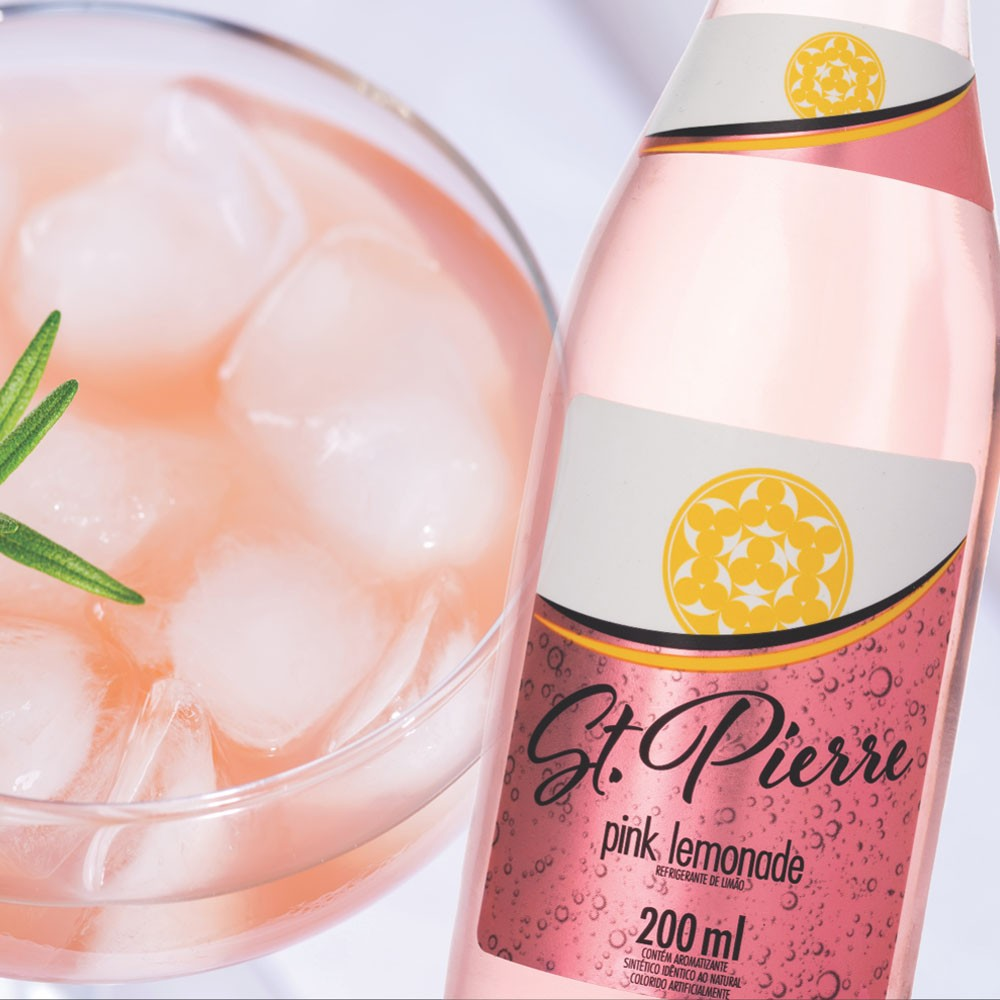 Pink Lemonade St. Pierre 200 ml Long Neck
