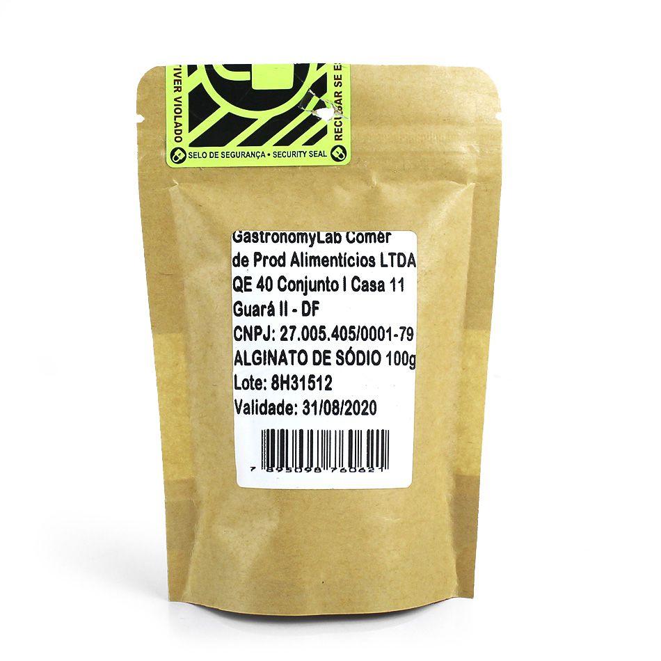 Alginato de Sódio 100g - GastronomyLab