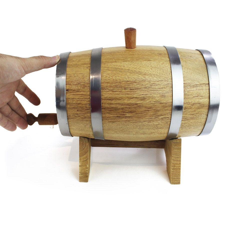 Barril de Amburana 2,2litros para Envelhecer Bebidas