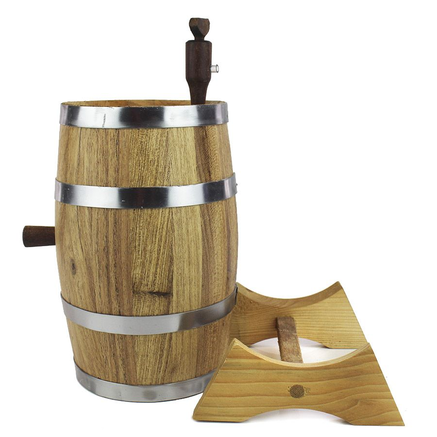Barril de Carvalho Europeu 2,2litros para Envelhecer Bebidas