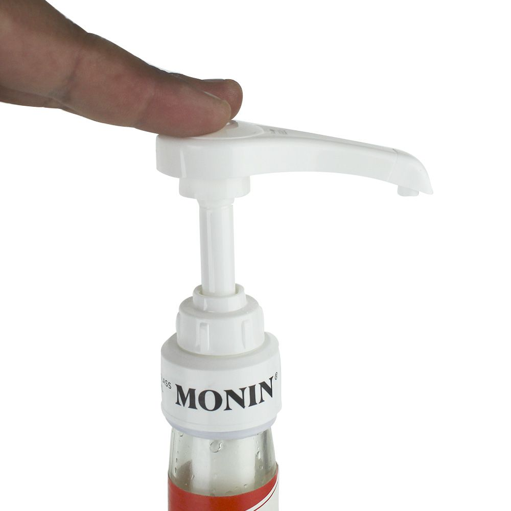 Bomba Pump Dosador Branco 5ml Xarope Monin