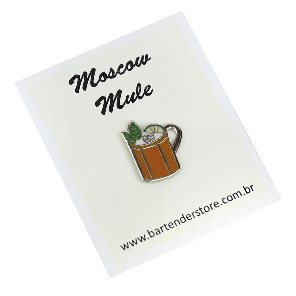 Broche Pin Coquetel Moscow Mule